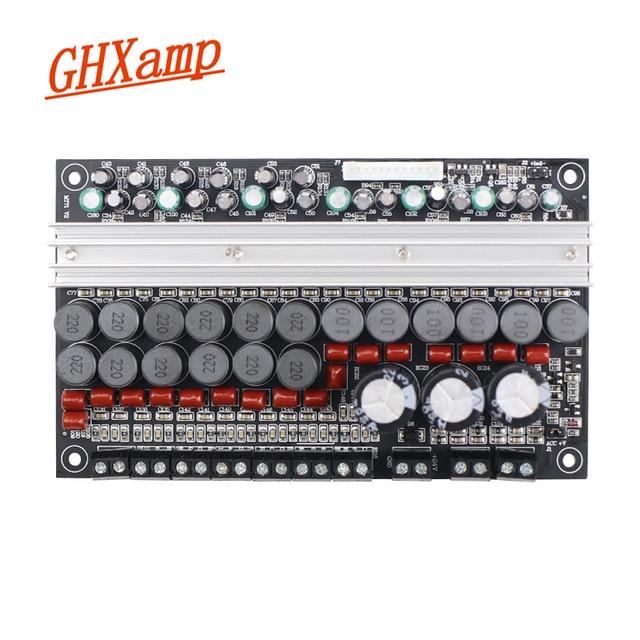 GHXAMP tarjeta de audio amplificadora TPA3116 7,1 para altavoz envolvente de 50W y 100W, SubWoofer Central para DC12 24V DIY