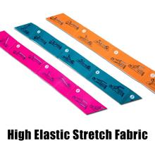 1Pc Yoga Stretch Strap Elastic Yoga Belt Fitness Exercise Gym Pilates Waist Leg Resistance Bands Professional yoga elastic stretching strap with loops exercise straps for physical therapy pilates ballet hamstring stretch bands