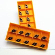 Карбид вольфрама DCMT070208 VP15TF инструмент для вставки карбида DCMT 070208 Торцевой фрезерный токарный станок с ЧПУ инструмент