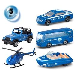 1:72 Kids Politie Speelgoed Auto Model Trek Legering Diecast Speelgoed Voertuigen Collectie Geschenken Speelgoed Voor Jongens Kinderen Office Home ornament