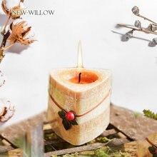 Ароматизированная Бездымная Свеча в форме цветка ароматерапия