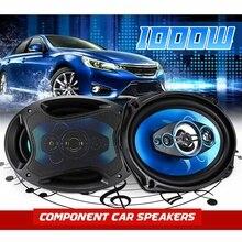 2 Pcs 1000W 12V 6.9 Inch Car Speaker 2 Way HIFI Aud