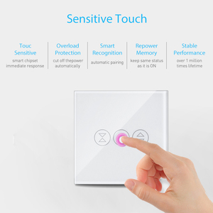 Image 5 - Tuya Smart Life WiFi Curtain Blind Switch for Roller Shutter Electric motor Google Home Alexa Echo Voice Control DIY Smart Home