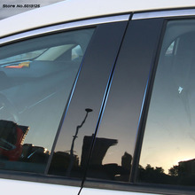 Car Door Window Middle Column Trim Decoration Protection strip For Mazda 3 Axela 2019 2020 Car Accessories