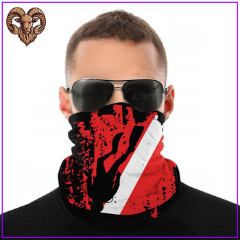 2020 Women Men facemasks maskas Scuba Diving Red Flag cotton facemasks for virus protection reusable washable hot sale