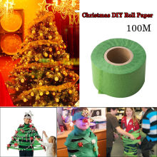 Christmas Joys Funny Games Christmas Tree pintura de diamante pegado firmemente Home Decoration DIY Paper Roll(China)