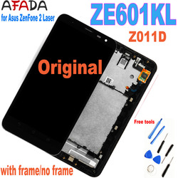 6'' Original LCD for Asus ZenFone 2 Laser ZE601KL 601KL Z011D LCD Display Touch Screen Panel Digitizer Assembly Replacement