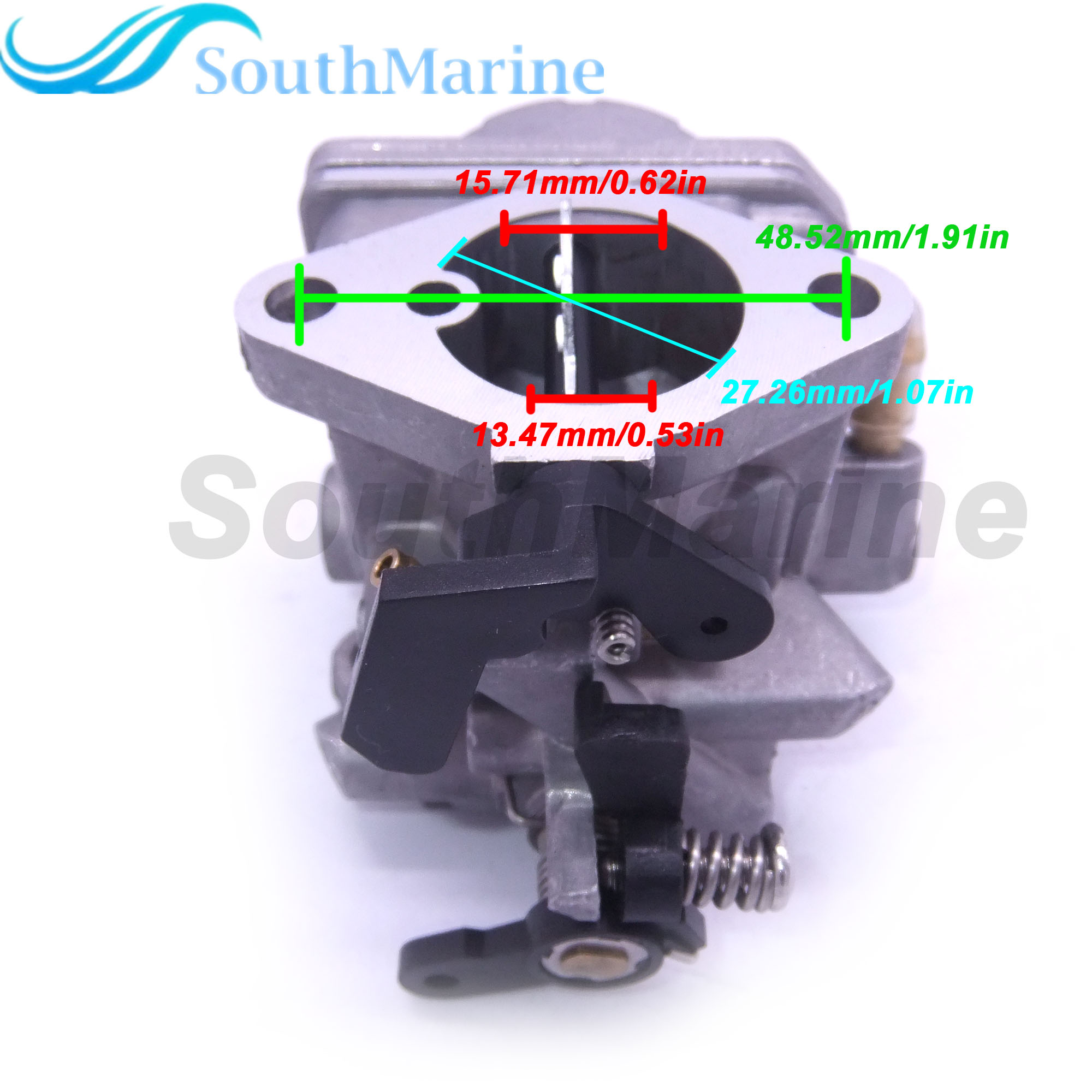 Image 2 - 3R4 03200 0 3R4 03200 1 3R4032000M 3R4032001M Carburetor Assy for Tohatsu Nissan 4 stroke 6HP MFS6 NFS6 A2 B Outboard Motor-in Boat Engine from Automobiles & Motorcycles