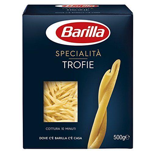 10x Barilla Specialità Trofie Liguri Italian Pasta 500g