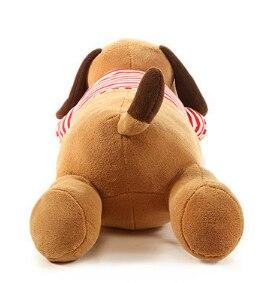 Image 5 - 40/70/90 см, плюшевая игрушка, большая Спящая собака, мягкая игрушка животное