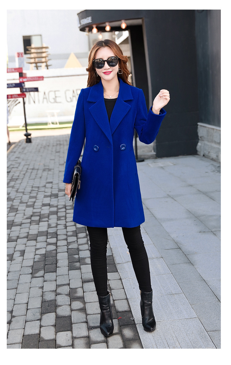YICIYA Winter autumn Coat Women Wool Jacket Long Oversized Coats Plus Size Large Black Blend Woolen Warm Outerwear 2019 Clothing 11