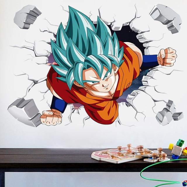 3D Broken Hole Goku