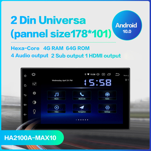 """Image 2 - Dasaita 7"""" Android 10 Car GPS Radio Player for Two Din Universal with Octa Core 4GB 64GB Auto Stereo Video Navi Multimedia"""