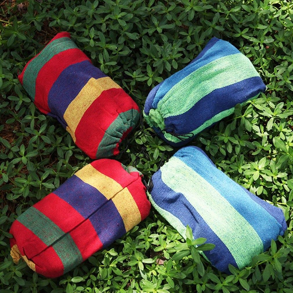 Напольный гамак для одного человека цветной холст гамак кемпинг сильный гамак анти-опрокидывание гамак