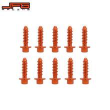 دراجة نارية 10 قطعة التصنيع باستخدام الحاسب الآلي برغي حافر ذاتيًا بولت عدة ل KTM SX SXF XC XCF XCW XCFW EXC exf 125 150 200 250 300 350 450 530 97 2020