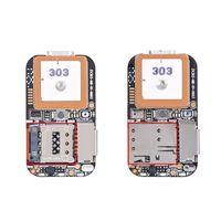 Super Mini Size GPS Tracker GSM AGPS Wifi LBS Locator Free Web APP Tracking Voice Recorder ZX303 PCBA Inside 87HE|GPS Trackers| |  -