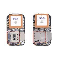 Super Mini Größe GPS Tracker GSM AGPS Wifi LBS Locator Kostenloser Web APP Tracking Stimme Recorder ZX303 PCBA Innen 87HE