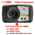 100% Оригинальный Xhorse VVDI2 Prog для BMW версии с базовым + для BMW OBD + для BMW CAS4 + для BMW FEM/BDC функция
