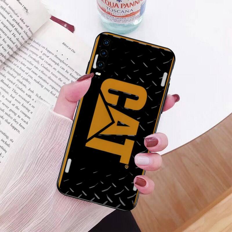 Caterpillar CAT Custom Photo Soft Phone Case For Huawei P40 P30 P20 Lite Pro Mate 20 Pro P Smart 2019 Prime