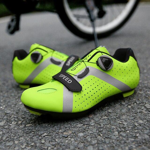 Homens ciclismo sapatos de velocidade auto-bloqueio sapatos mtb homem de bicicleta de estrada sapatos de corrida de tênis triathlon ciclismo mtb 2020 6