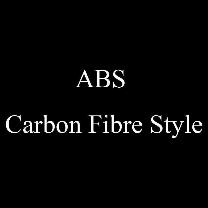 ABS Fibre de carbone 2019 2020 voiture avant brouillard lampe sourcil décoration autocollant couverture pour Mazda 3 Axela accessoires garniture coquille