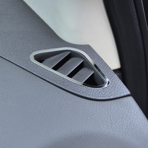 Image 3 - Auto Air Conditioning Vent Trim Sticker Accessories For Ford Focus 2 MK2 2005 2006 2008 2009 2010 2012 2013
