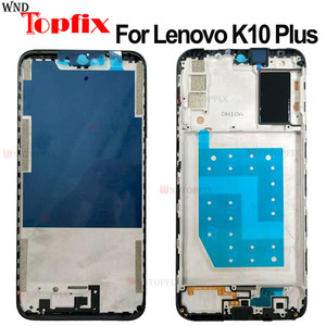 For Lenovo K10 Plus Housing Middle Front Bezel Frame Plate Replacement Spare Parts For Lenovo K10 Plus Front LCD Frame