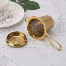 Strainer SPICE-FILTER Tea Infuser Stainless-Steel Teapot Kitchen-Accessories Mesh Leaf