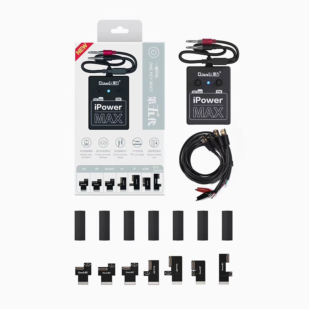 Câble de Test de ligne de démarrage d'alimentation pour iPhone X 8 8plus 7/7plus 6s 6splus 6/6plus Outils de réparation pour téléphones mobiles