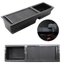 Para bmw e46 3 series 1999-2005 frente centro console caixa de armazenamento bebida/suporte copo preto 51167038323