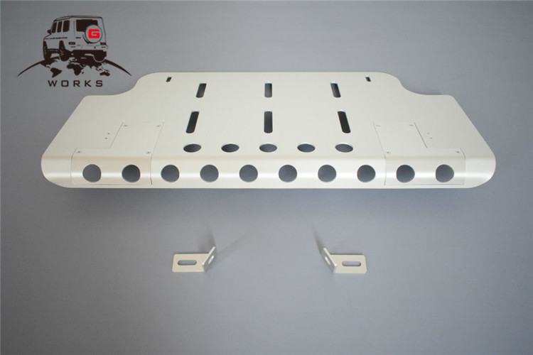 front skid plate (21)