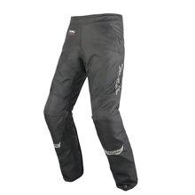 Tnac Новая мотоциклетная обувь защита колена теплые лыжные штаны