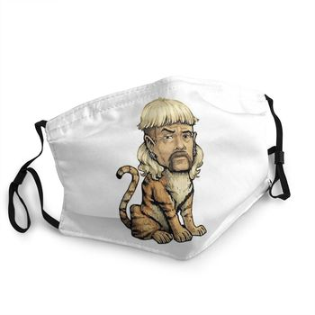 Joe Exotic Tiger Reusable Mouth Face Unisex Mask Animal Documentary Anti Haze Dustproof Protection Cover Respirator Mouth Muffle image