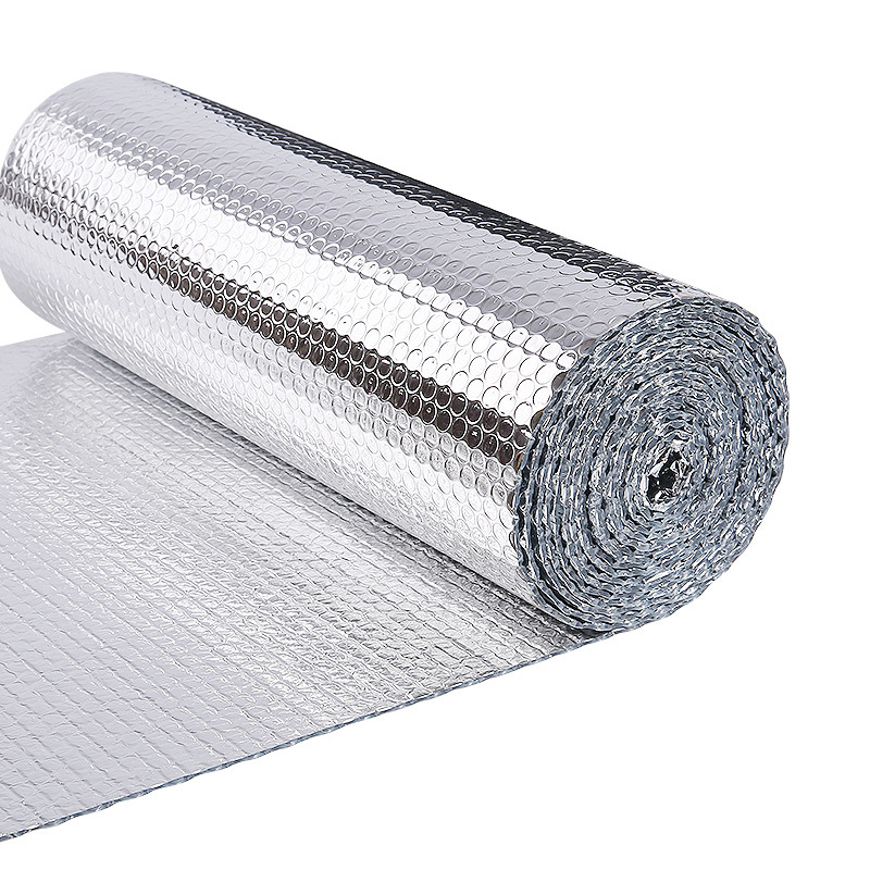 20m2 Double Side Aluminum Foil Rooftop Heat Insulation Material Three Layers Reflective Film By Free Shipping