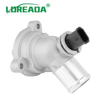 Loreada 25192923 96988257 25199831 시보레 스파크 m300 1.0l 1.2l l4 2010-2015 용 엔진 냉각수 서모 스탯 어셈블리