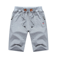 Summer Cotton Shorts Men Brand High Quality Mens