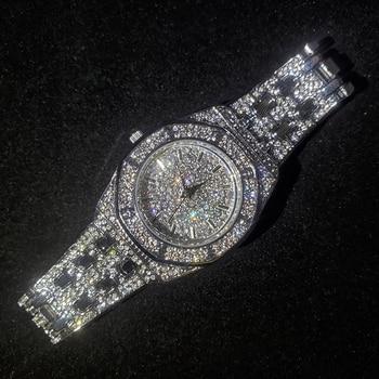 MISSFOX Silver Women's Watch Casual Dress Ladies Watch Fashion Waterproof Steel Quartz Wrist Watches For Women Valentines Gift 2