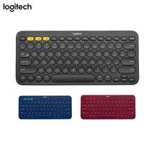 Logitech k380 teclado sem fio bluetooth, multi dispositivo, para windows, mac, cromado, os, android, iphone, ipad