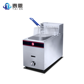 Home or Restaurant Commercial Kitchen LPG Gas Deep Fryer with Temperature Control df5g free standing electric temperature controlled commercial deep donut large capacity chicken chip fish fryer with basket