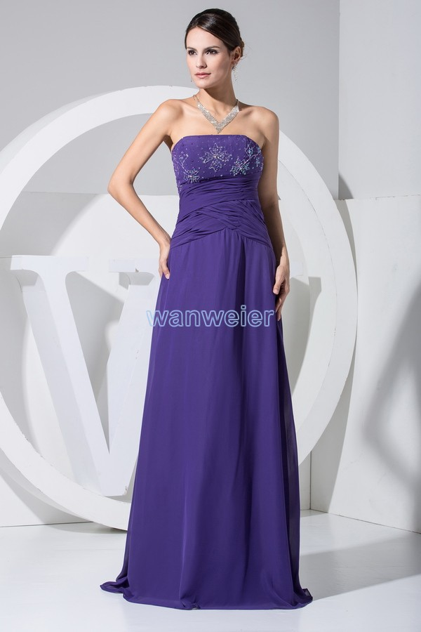 Free Shipping Hot Seller New Design Purple Mermaid Chiffon Big Size Cheap Customize Color Ready To Ship Mother Of Bride Dresses