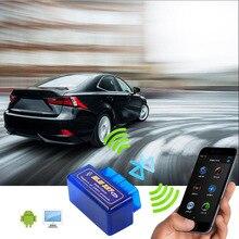 Mini Elm327 Bluetooth OBD2 V1.5 Elm 327 V 1.5 OBD 2 Auto Diagnostic Scanner For Car Elm-327 OBDII Code Diagnostic-Tools