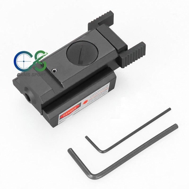 Tactical 1mW Green Laser Sight Adjustable Designator Hunting Picatinny 20mm Rail