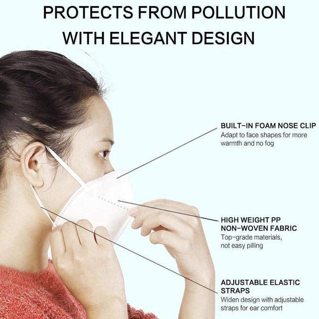 50pc/lot Wholesale KN95 Mask Soft Protective Mascarilla Mascherine Anti Flu Face Mask FFP3 FFP2 KF94 Masks 5