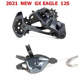 Novo 2021 sram gx eagle groupset 1x12s 12 velocidade gatilho shifter alavanca do lado direito traseiro desviador longa gaiola mtb bicicleta
