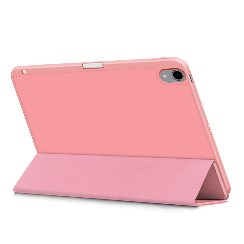Pencil Holder Case For iPad Air 4 10 9 inch 2020 A2324 A2072 Flip Stand PU
