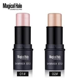 Magical Halo PRO Face Series Shimmer Stick Brighten Highlighter Stick Contouring Makeup Foundation Concealer Bronzer 3D 70%