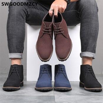 Chukka-Botas De desierto para Hombre, Zapatos De Vestir formales, Buty, Meskie, Sepatu,...