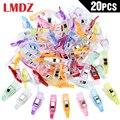 LMDZ 20 Pcs Mini Multi-zweck Clips Verwenden wie Nähen Clips Bindung Clips für Quilten Häkeln Stricken Allgemeine Zweck
