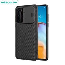 Nillkin coque de téléphone pour Huawei P40 /P40 Pro couverture CamShield housse de Protection dobjectif de caméra coulissante pour Huawei P40 Pro 5G étui
