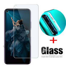 2 in 1 tempered glass for huawei honor 20 pro camera lens glass protector for